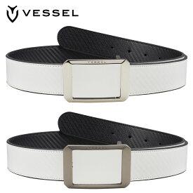 VESSEL(ベゼル)日本正規品 Square reversible(スクエアリバーシブル) ゴルフベルト 2020モデル 「BELT SQUARE」 【あす楽対応】