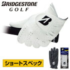BRIDGESTONE GOLF(ブリヂストンゴルフ)日本正規品 TOUR GLOVE(ツアーグローブ) ショートスペック メンズゴルフグローブ(左手用) 2021新製品 「GLG12 ショートスペック」 【あす楽対応】