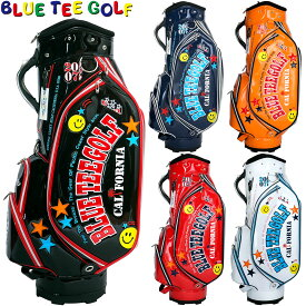 【【最大3300円OFFクーポン】】BLUE TEE GOLF(ブルーティーゴルフ)日本正規品 エナメルキャディバッグ 「CB-005」