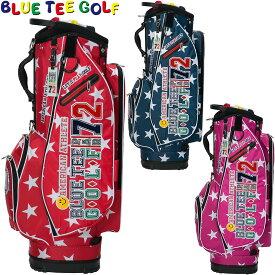 【【最大3300円OFFクーポン】】BLUE TEE GOLF(ブルーティーゴルフ)日本正規品 ナイロン軽量キャディーバッグ[スター] 「CB-006」