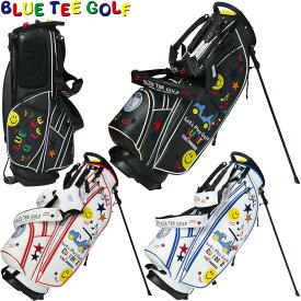 BLUE TEE GOLF(ブルーティーゴルフ)日本正規品 スマイル&カート スタンドキャディバッグ 「CB-008」