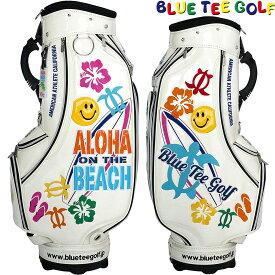 【【最大3300円OFFクーポン】】BLUE TEE GOLF(ブルーティーゴルフ)日本正規品 ALOHA ON THE BEACH(アロハオンザビーチ) カートキャディーバッグ 「CB-009」