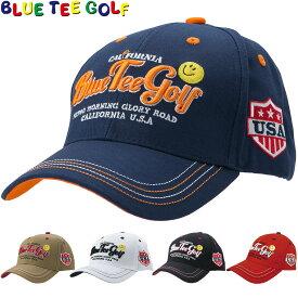 【【最大3777円OFFクーポン】】BLUE TEE GOLF(ブルーティーゴルフ)日本正規品 コットンキャップ [スマイル] 「CP-001」