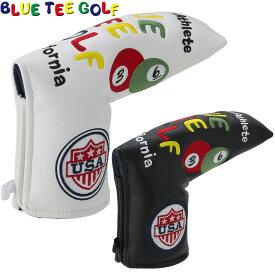 BLUE TEE GOLF(ブルーティーゴルフ)日本正規品 スマイル&ピンボール パターカバー ブレードタイプ 「HC-001」