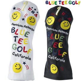 BLUE TEE GOLF(ブルーティーゴルフ)日本正規品 スマイル&ピンボール ヘッドカバーDR用 ドライバー用ヘッドカバー 「HC-001」