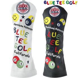 【【最大3777円OFFクーポン】】BLUE TEE GOLF(ブルーティーゴルフ)日本正規品 スマイル&ピンボール ヘッドカバーFW用 フェアウェイウッド用ヘッドカバー 「HC-001」