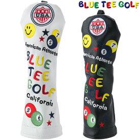 【【最大3777円OFFクーポン】】BLUE TEE GOLF(ブルーティーゴルフ)日本正規品 スマイル&ピンボール ヘッドカバーUT用 ユーティリティ用ヘッドカバー 「HC-001」