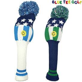 【【最大3777円OFFクーポン】】BLUE TEE GOLF(ブルーティーゴルフ)日本正規品 スマイルSTAR(スター) ニットヘッドカバーFW用 フェアウェイウッド用ヘッドカバー 「HC-004」