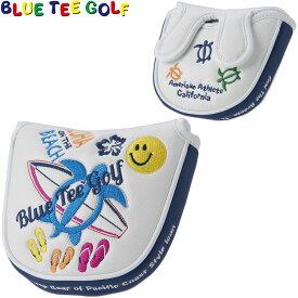 BLUE TEE GOLF(ブルーティーゴルフ)日本正規品 ALOHA ON THE BEACH(アロハオンザビーチ) ヘッドカバーパター用 マレットタイプ用パターカバー 「HC-005」