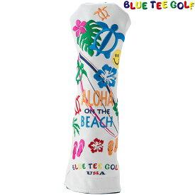 BLUE TEE GOLF(ブルーティーゴルフ)日本正規品 ALOHA ON THE BEACH(アロハオンザビーチ) ヘッドカバーUT用 ユーティリティ用ヘッドカバー 「HC-005」