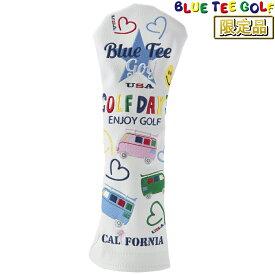 【【最大3777円OFFクーポン】】【限定品】 BLUE TEE GOLF(ブルーティーゴルフ)日本正規品 ワーゲンバス ヘッドカバーFW用 フェアウェイウッド用ヘッドカバー 「HC-007」
