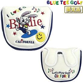 【限定品】 BLUE TEE GOLF(ブルーティーゴルフ)日本正規品 限定キャラクターシリーズ ヘッドカバーパター用 マレットタイプ用パターカバー 「HC-009」