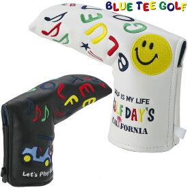 BLUE TEE GOLF(ブルーティーゴルフ)日本正規品 スマイル&カート ヘッドカバーパター用 ブレードタイプ用パターカバー 「HC-012」