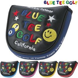 BLUE TEE GOLF(ブルーティーゴルフ)日本正規品 スマイル&ピンボール パターカバー ブラック [マレットタイプ] 「PC-002」