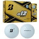 【日本未発売モデル】BRIDGESTONE GOLF(ブリヂストンゴルフ) e12 SOFT ゴルフボール1ダース(12個入) 【あす楽対応】