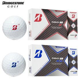 【限定カラー】BRIDGESTONE GOLF(ブリヂストンゴルフ)日本正規品 TOUR B X カラーEDITION 2020モデル ゴルフボール1ダース(12個入) 【あす楽対応】