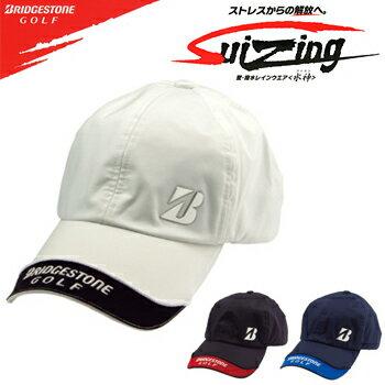 ブリヂストンゴルフ日本正規品Suizing(水神)レインキャップ「CPG512」【あす楽対応】