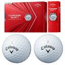 Callaway(キャロウェイ)日本正規品 CHROME SOFT(クロムソフト) 2020新製品 ゴルフボール1ダース(12個入) 【あす楽対応】