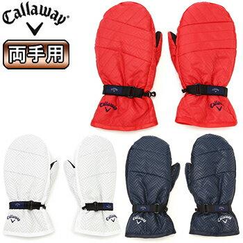 Callaway(キャロウェイ)日本正規品ヘリンボーン柄キルティングミトン2019モデル「241-9286504」【あす楽対応】