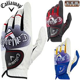 【【最大3300円OFFクーポン】】Callaway(キャロウェイ)日本正規品 Graphic Glove 19 JM (グラフィックグローブ19JM) 左手用ゴルフグローブ2019モデル 【あす楽対応】
