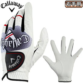 【【最大3300円OFFクーポン】】Callaway(キャロウェイ)日本正規品 Graphic Glove 19 JM (グラフィックグローブ19JM) 右手用ゴルフグローブ2019モデル 【あす楽対応】