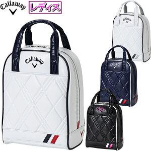 Callaway(キャロウェイ)日本正規品 PU Sport Shoe Case Women's 21 JM (ピーユー スポーツ シューズケース ウィメンズ 21 JM) シューズバッグ 2021新製品 レディスモデル 【あす楽対応】