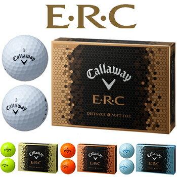 2016新製品キャロウェイ日本正規品E・R・C(イーアールシー)ゴルフボール「1ダース(12個入)」【あす楽対応】
