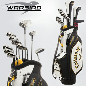 キャロウェイ日本正規品WARBIRD SETウォーバード メンズ10点ゴルフクラブフルセットキャディバッグ付き【あす楽対応】