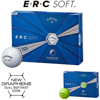 Callaway(キャロウェイ)日本正規品ERCSOFT(イーアールシーソフト)TRIPLETRACK2019モデルゴルフボール1ダース(12個入)【あす楽対応】