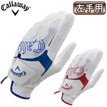 2016モデルCallaway(キャロウェイ)日本正規品Hyper Lite Glove 16 JM(ハイパーライトグローブ16JM)ゴルフグローブ「左手用」【あす楽対応】