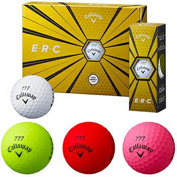 Callaway(キャロウェイ)日本正規品ERC(イーアールシー)2019新製品ゴルフボール1ダース(12個入)「19ERCBALL」【あす楽対応】