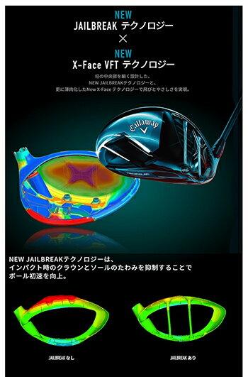 Callaway(キャロウェイ)日本正規品ROGUESTAR(ローグスター)ドライバー2018モデルSpeederEVOLUTIONforCW50カーボンシャフト【あす楽対応】