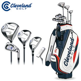 Cleveland(クリーブランド)日本正規品 PACKAGE SET セットクラブ 「メンズクラブ11本セット&キャディバッグ付き(12点セット)」