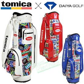 【【最大3300円OFFクーポン】】tomica×DAIYA GOLF トミカ×ダイヤゴルフ日本正規品 キャディバッグ4105 2019モデル 「CB-4105」 【あす楽対応】