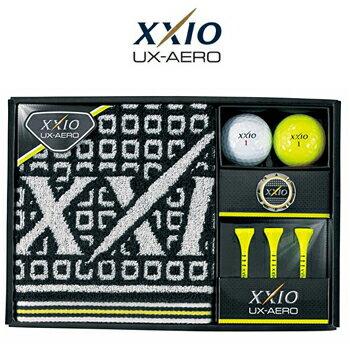 2016新製品ダンロップ日本正規品XXIO(ゼクシオ)UX−AERO(ユーエックスエアロ)ボールギフト「GGF−F2072」