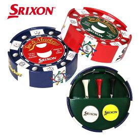 ダンロップ日本正規品 SRIXON(スリクソン) マーカーギフトセット 2020新製品 ウッドティ「GGF-10342」 【あす楽対応】