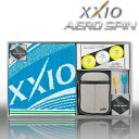 ダンロップ日本正規品ゼクシオAERO SPIN(エアロスピン)ボールギフトXXIO GGF−F3065【あす楽対応】