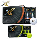 DUNLOP(ダンロップ)日本正規品 XXIO X-eks-(ゼクシオエックス) 2020新製品 ゴルフボール1ダース(12個入り) 【あす楽対応】