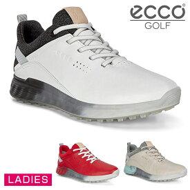 ECCO(エコー)日本正規品 S-THREE (エススリー) レディスモデル スパイクレスゴルフシューズ 2020新製品 「102903」 【あす楽対応】