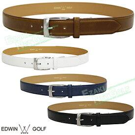 【【最大3300円OFFクーポン】】EDWIN GOLF(エドウィン ゴルフ)日本正規品 盛り上げプレーンゴルフベルト 2019新製品 「EDBT1949A」 【あす楽対応】