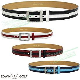 【【最大3300円OFFクーポン】】EDWIN GOLF(エドウィン ゴルフ)日本正規品 配色デザインゴルフベルト 2019モデル 「EDBT1949B」 【あす楽対応】