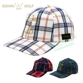 【【最大4400円OFFクーポン】】EDWIN GOLF(エドウィン ゴルフ)日本正規品 TRチェックキャップ 2019新製品 「EDC1948WC」 【あす楽対応】