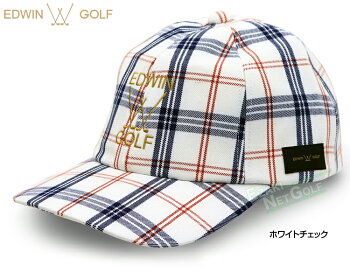 EDWINGOLF(エドウィンゴルフ)日本正規品TRチェックキャップ2019モデル「EDC1948WC」【あす楽対応】