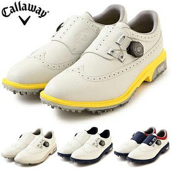 Callaway(キャロウェイ)日本正規品TOURPRECISIONBOA18(ツアープレシジョンボア18)ソフトスパイクゴルフシューズ2018新製品「247-8983500」【あす楽対応】