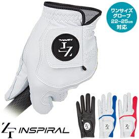 イオンスポーツ ZEROFIT INSPIRAL (ゼロフィットインスパイラル) ワンサイズゴルフグローブ(左手用) 2019新製品「YZIGLA」 【あす楽対応】