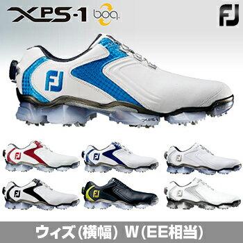 2016モデルFOOTJOYフットジョイ日本正規品XPS-1 Boa(エックスピーエスワンボア)ソフトスパイクゴルフシューズウィズ:W(EE)【あす楽対応】