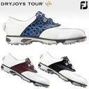 FOOTJOYフットジョイ日本正規品DRYJOYS TOUR Boa(ドライジョイズツアーボア)ソフトスパイクゴルフシューズ【あす…