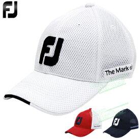 FOOTJOY(フットジョイ)日本正規品 FJゴルフメッシュキャップ 2019新製品 「FJHW1904」 【あす楽対応】