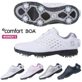 FOOTJOY(フットジョイ)日本正規品 e Comfort Boa (イーコンフォート ボア) 2021新製品 ウィメンズ(レディス) ソフトスパイク ゴルフシューズ 【あす楽対応】