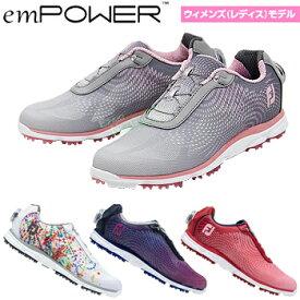 FOOTJOY(フットジョイ)日本正規品 emPOWER (エンパワー) スパイクレス レディスゴルフシューズ 2019モデル 【あす楽対応】